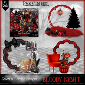 Clusters Frame PU - Bloody Night