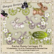 Easter Bunny Carriages Cu 4 Cu FS