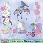Whimsical Journey clusters