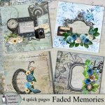 Faded memories quick pages