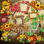 Autumn Color Clusters by Lemur Designs