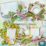 Easter Mood Clusters PU by Lemur Designs