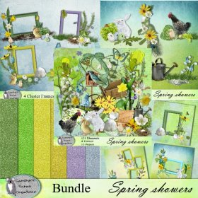 Spring showers bundle
