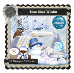 AngelKKreationZ-Blue-BlueWinter TS KIT PU