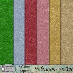Dragons den glitter papers