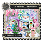 AngelKKreationZ-A Pastel Christmas TS Kit PU