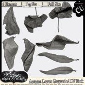 AUTUMN LEAVES GREYSCALED CU PACK