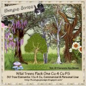 Wild Trees Pack One Cu 4 Cu Mix FS
