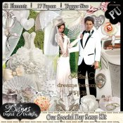 OUR SPECIAL DAY SCRAP KIT PACK - TAGGER SIZE
