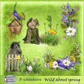Wild about spring clusters