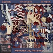 Memorial Day Remembrance Kit with CU Bonus - Tagger