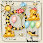 CU Vol. 396 Bee Mix by Lemur Designs