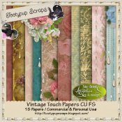 Vintage Touch Papers CU