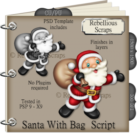 Santa With Bag Script