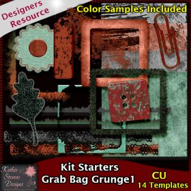 Kit Starters Grab Bag Grunge 1 CU