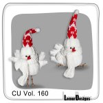 CU Vol. 160 Christmas Winter Birds by Lemur Designs