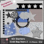 Kit Starters Grab Bag Stars 2 - CU Templates