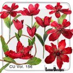CU Vol. 156 Flowers by Lemur Designs