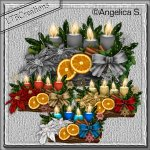 Template Christmas Candles-02