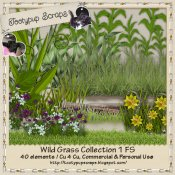 Wild Grasses Collection One Cu 4 Cu Mix FS
