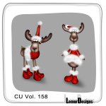 CU Vol. 158 Animals Moose by Lemur Designs