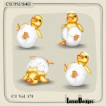 CU Vol. 378 Easter Duck by Lemur Designs