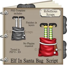 Elf In Santa Bag Script