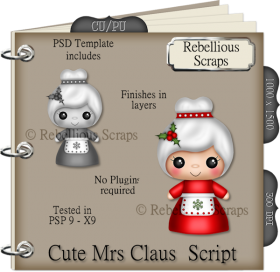 Cute Mrs Claus Script