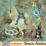 Steampunk Adventure clusters