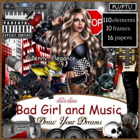Bad Girl and Music