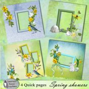 Spring showers quick pages