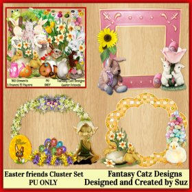 FCD Easter Friends Cluster Set