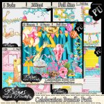 CELEBRATION SCRAP KIT BUNDLE - FULL SIZE