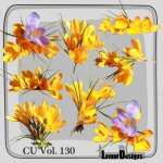 CU Vol. 130 flowers by Lemur Designs
