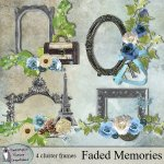 Faded memories cluster frames