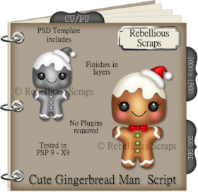 Cute Gingerbread Man Script