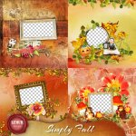 Simply Fall QuickPages by Lemur Designs