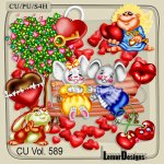 CU Vol. 589 Valentine Day Love