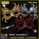 Mask Template 2 - Layered Template CU4CU