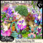 SPRING COLORS SCRAP KIT - TAGGER SIZE