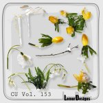 CU Vol. 153 Flowers by Lemur Designs