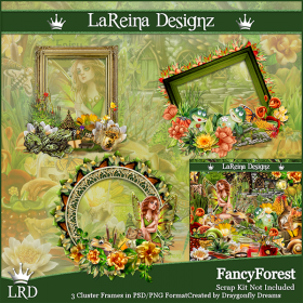 Fancy Forest - ClusterFrames