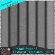 Kraft Paper Templates Set 1 Tagger CU4CU