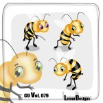 CU Vol. 079 Bees by Lemur Designs