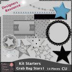 Kit Starters Grab Bag Stars 1 - CU Templates