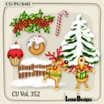 CU Vol. 352 Christmas Winter by Lemur Designs