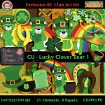Lucky Clover Bear 1 - CU Kit
