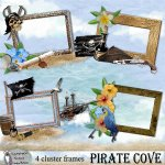 Pirate Cove cluster frames