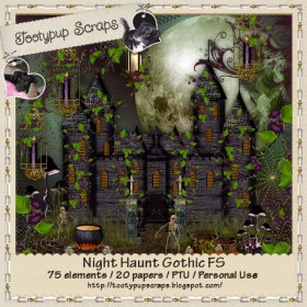 Night Haunt Gothic FS Personal Use