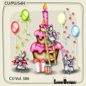 CU Vol. 386 Birthday Mouses by Lemur Designs